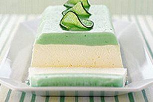 Lemon-Lime Daiquiri Layered Dessert