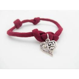 Claret eternity paracord bracelet