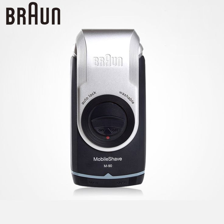 Braun Electric Shavers For Men M90 Electric Razor Washable Dry Battery