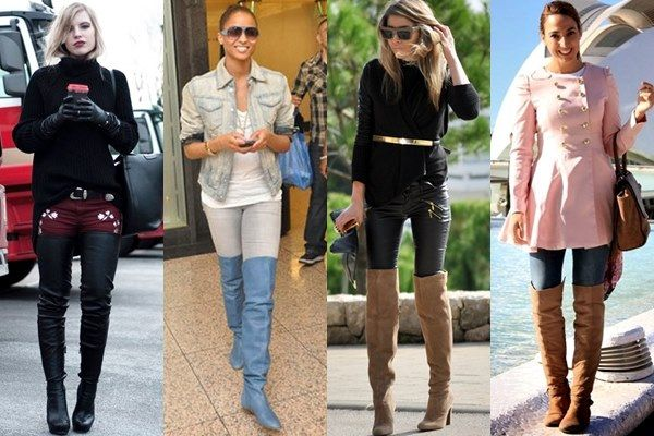 thigh high boots outfits | How to Wear Boots in Various Styles and Heights (Thigh-high Boots)