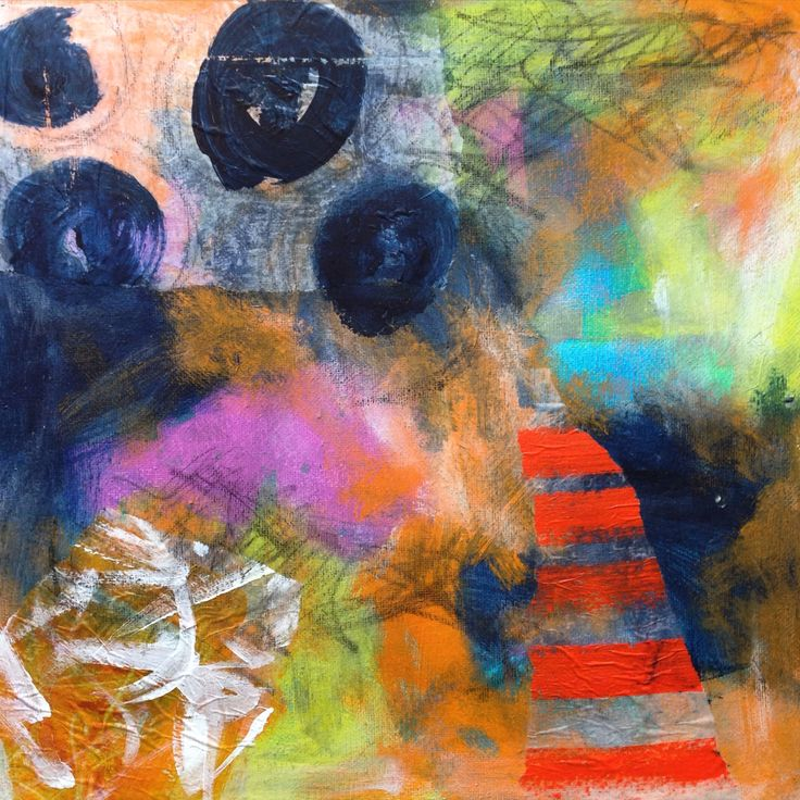 "Coal Walker- 12x12"" mixed media on Canvas  Amy Smith www.amysmithdesigns.com"