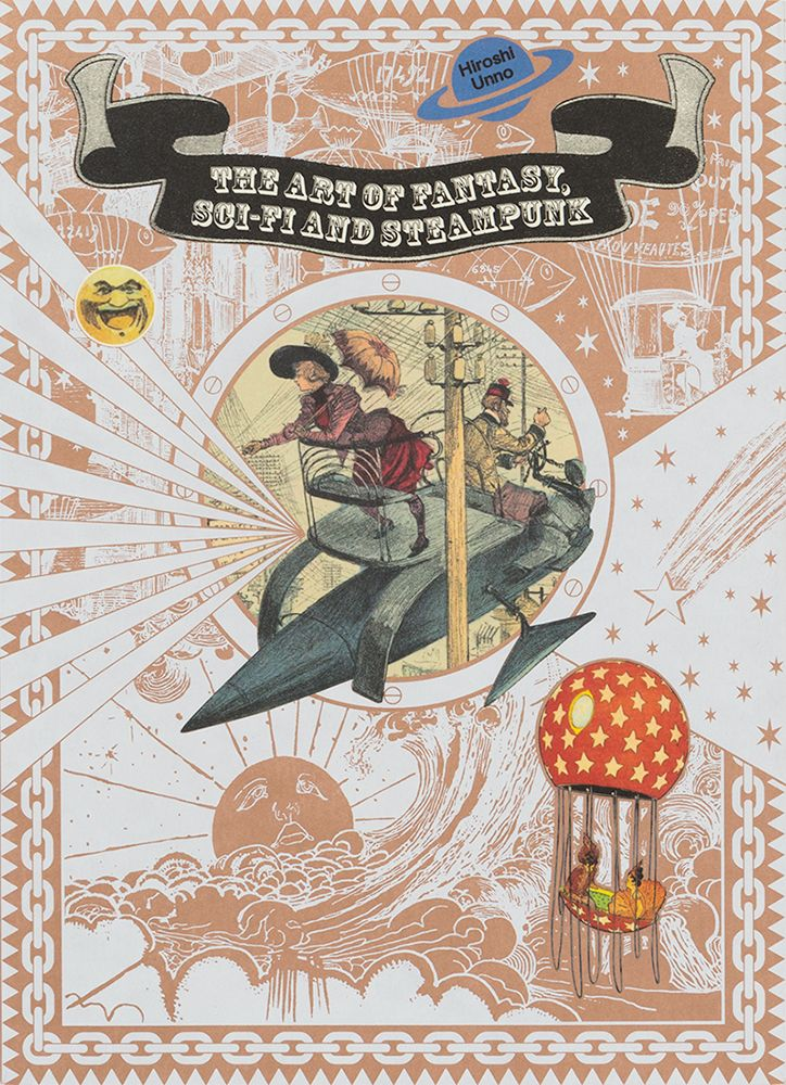 """The Art of Fantasy, Sci-fi and Steampunk ""  ISBN:978-4-7562-4975-3, Published by PIE International"