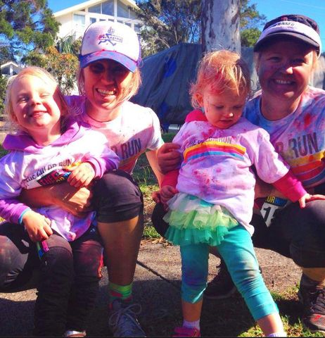 Colour Run Mums and bubs! http://www.bufnewcastle.com.au/intro-offer