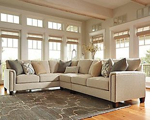 1000 Ideas About 3 Piece Sectional Sofa On Pinterest