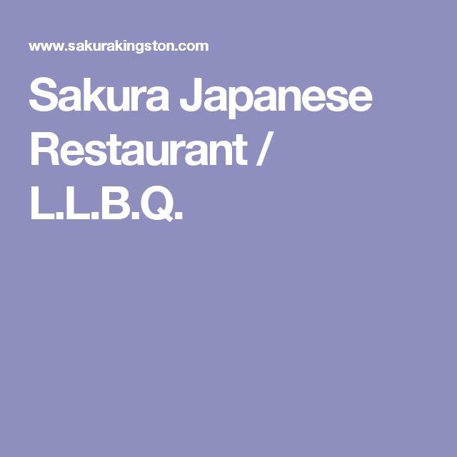 Sakura Japanese Restaurant / L.L.B.Q.
