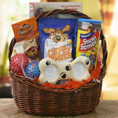 Faithful Friend   Pet Gift Basket - Dog  Price: $59.95