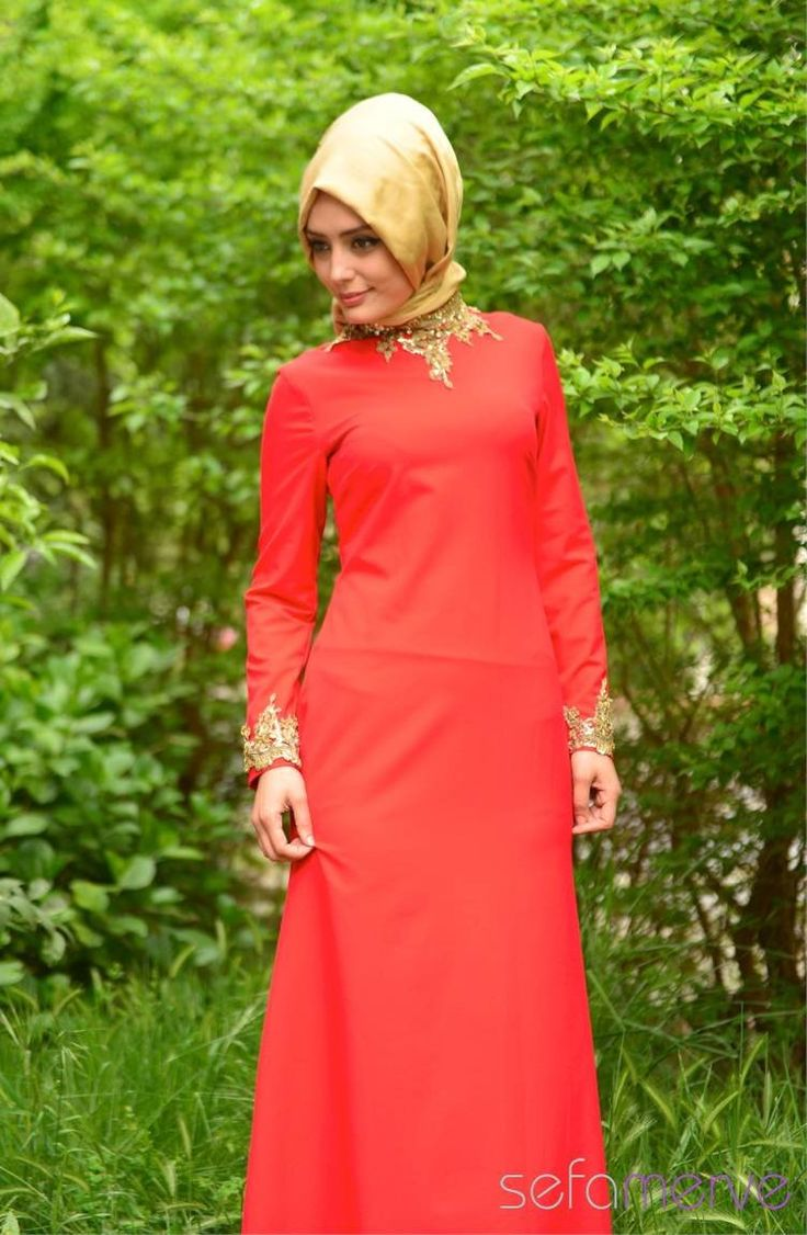 Sefamerve Abiye Elbiseler PDY 4721-02 Kırmızı