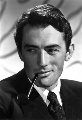 Gregory Peck- my first ever girl crush when I saw To Kill A Mockingbird when I was little.