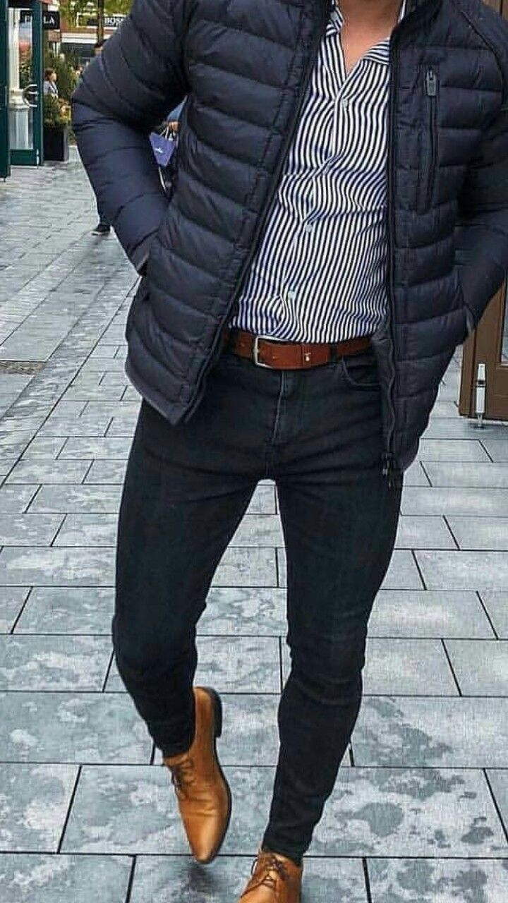 48 Winter Outfit Street Style for Men Trend 2019 #Men