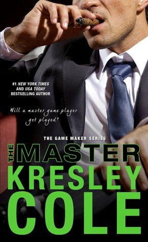 The Master by Kresley Cole (The Game Maker Series #2)  Sinfully seductive and smoldering sexuality, the pages of The Master will burn your fingers with desire and heat.  http://tometender.blogspot.com/2015/02/the-master-by-kresley-cole-game-maker.html