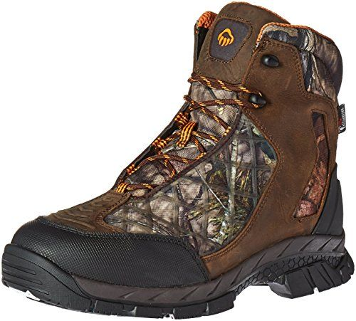 Wolverine Men's Crossbuck FX Waterproof Insulated Hunting Boot, Brown/Realtree, 11 M US