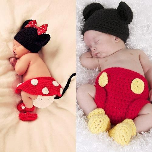 Yoo Hoo! Minnie Mouse Diaper Cover crochet pattern.  Absolutely adorable!
