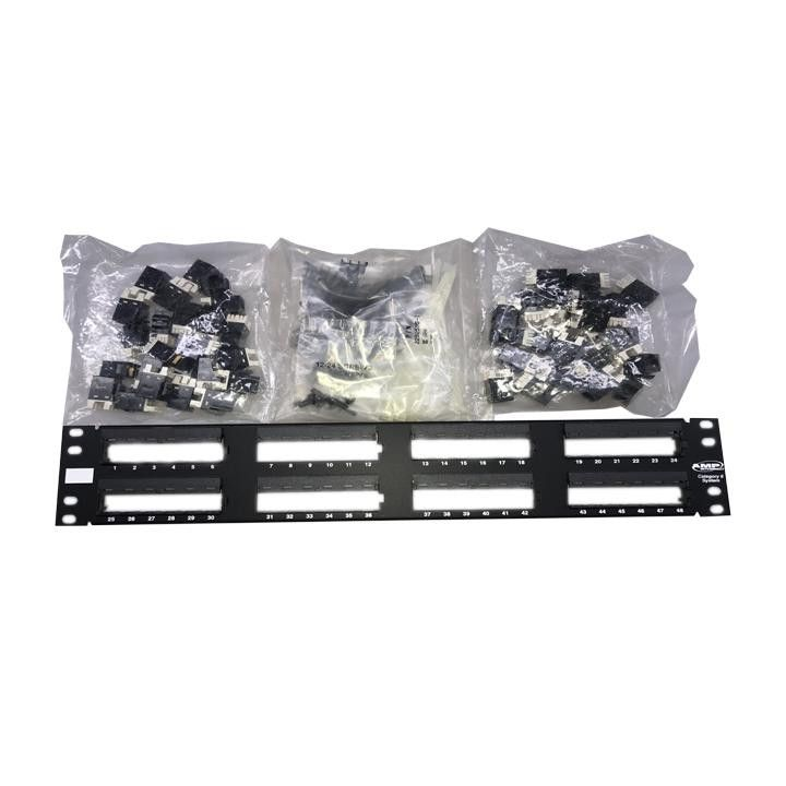 Te Connectivity Standard SL Series 110Connect Patch Panel 48-Ports 1375015-2