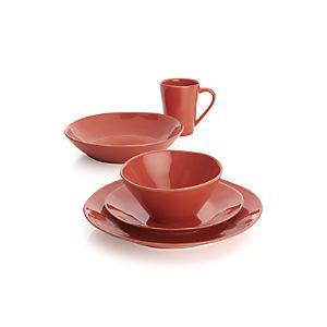 Marin Orange Dinnerware