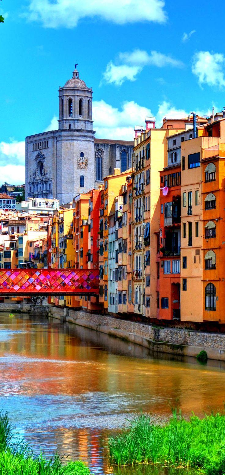 Catedral de la impresionante Ciudad de Gerona, España |  24 razones por las que España debe estar en su lista de cubo.  Increíble no.  # 10