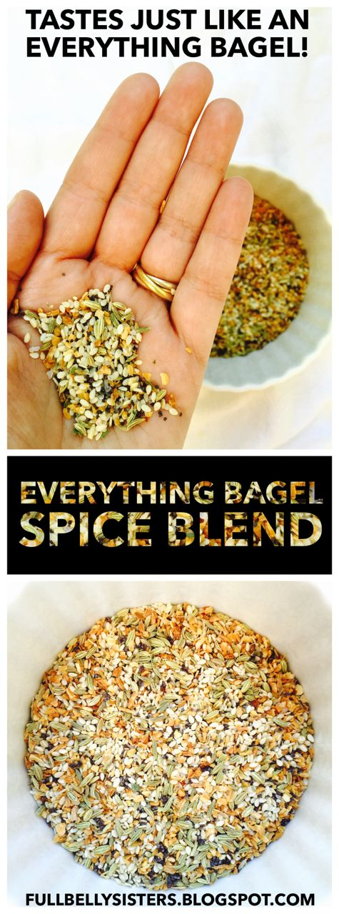 This spice mix tastes just like an everything bagel! I love it in dips or on baked potatoes, even in burgers.