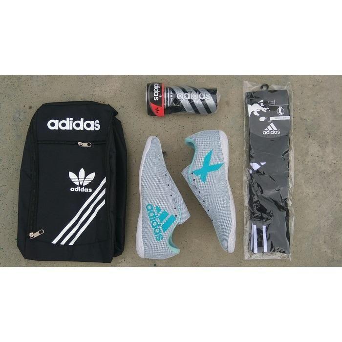 Promo Paket Komplit Sepatu Futsal Adidas Ace Sepatu