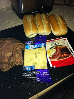 Super easy and fast to make French Dip