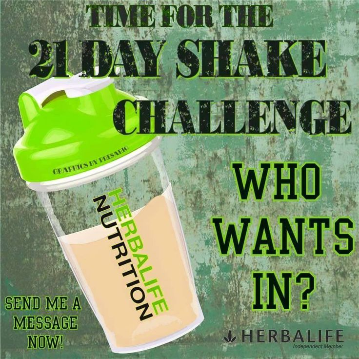 Hi everyone. we are excited to start the 21 day shake