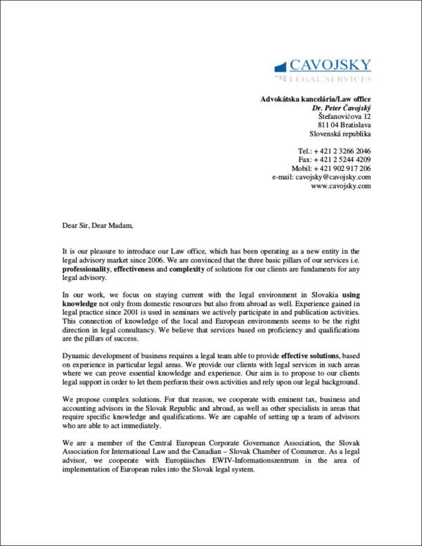 Sales Letters Template Template