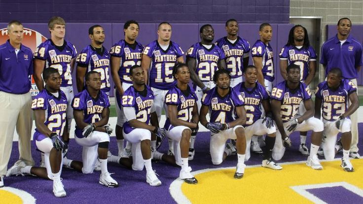 UNI Panther Football Team