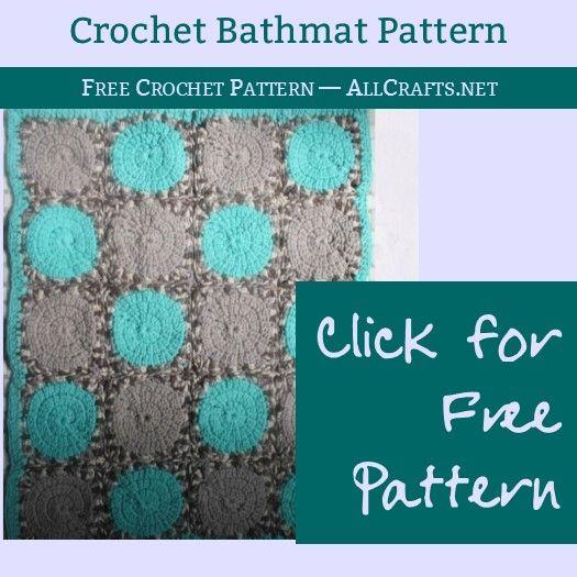 Face the Day Bathmat Crochet Pattern