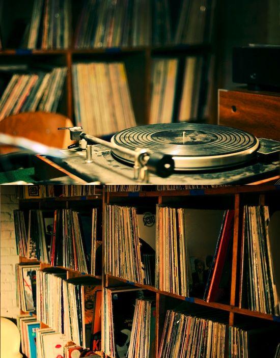 My vinyl world.....