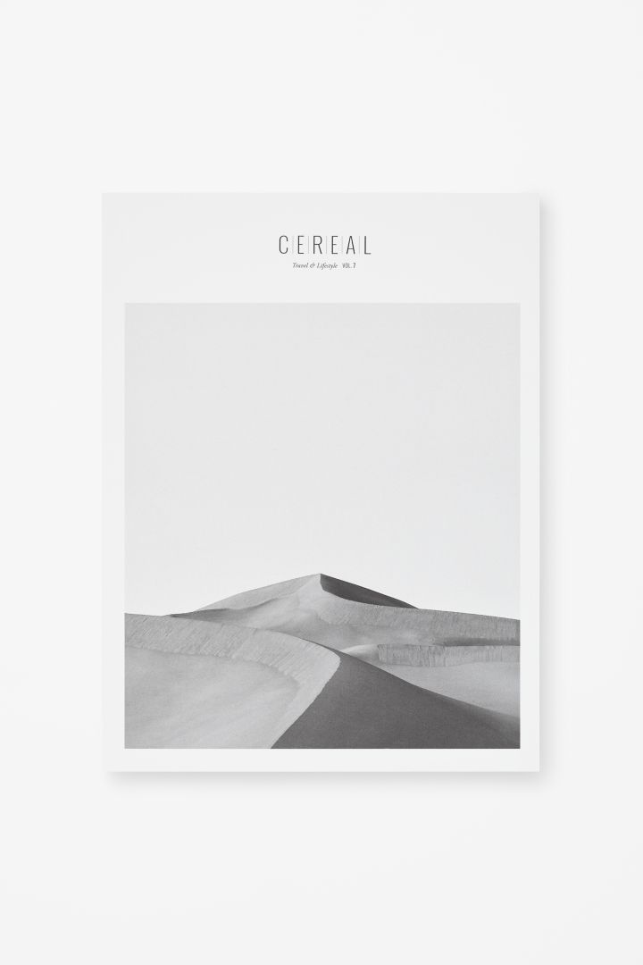 CEREAL MAGAZINE Acting as a unique travel guide, Cereal magazine uses insightful writing, beautiful photography and clean design to explore places and culture around the world. Also sure looks pretty on the wall