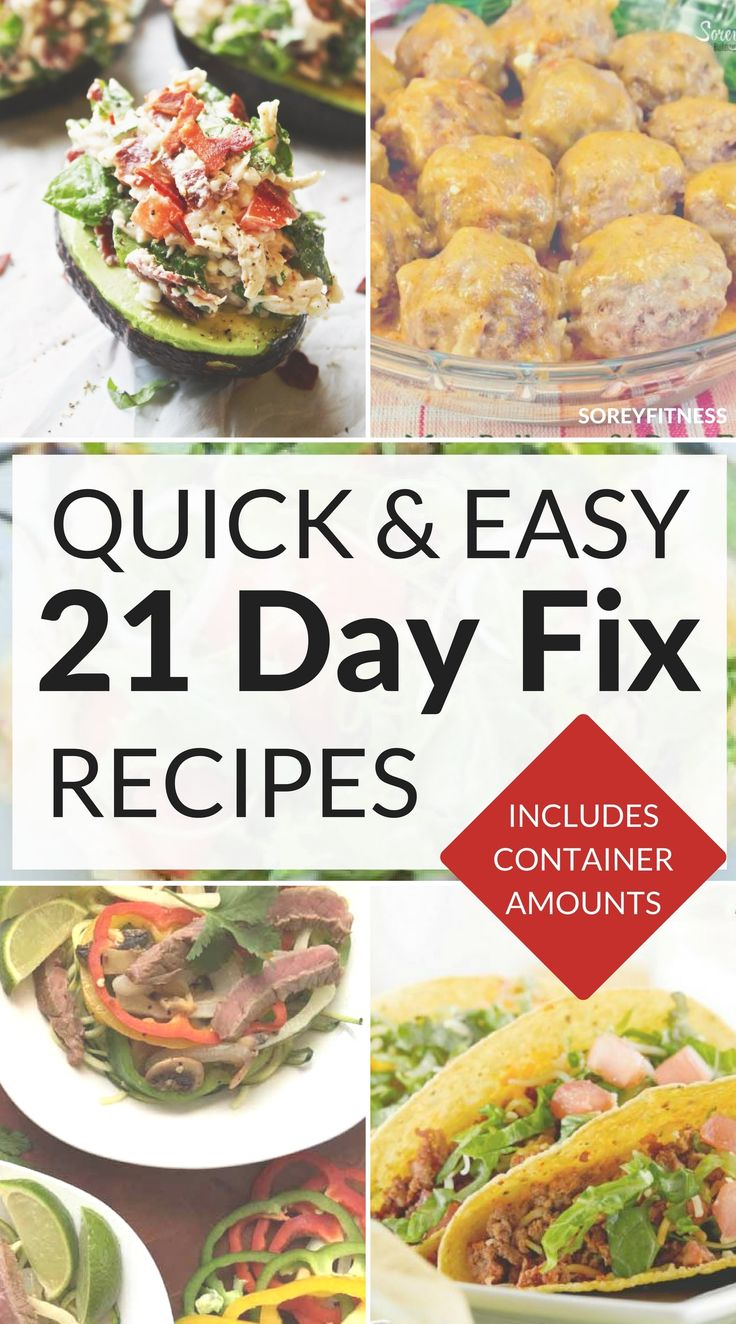 21 day fix recipes with container counts http://eatdojo.com/healthy-vegan-recipes-dinner-fast-cooking/