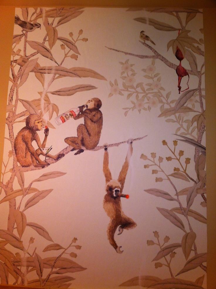 party monkey wallpaper