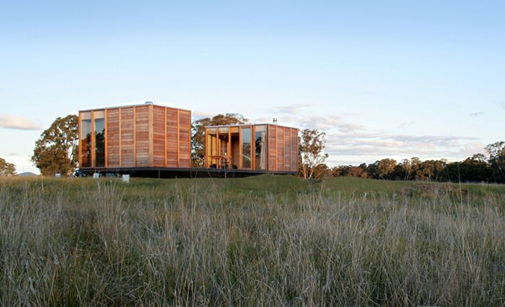 Built by ARKit in , Australia The Salt Creek Rural Retreat, completed in 2007 is a 1 bedroom, 1 bathroom sustainable accommodation that was prefabr...