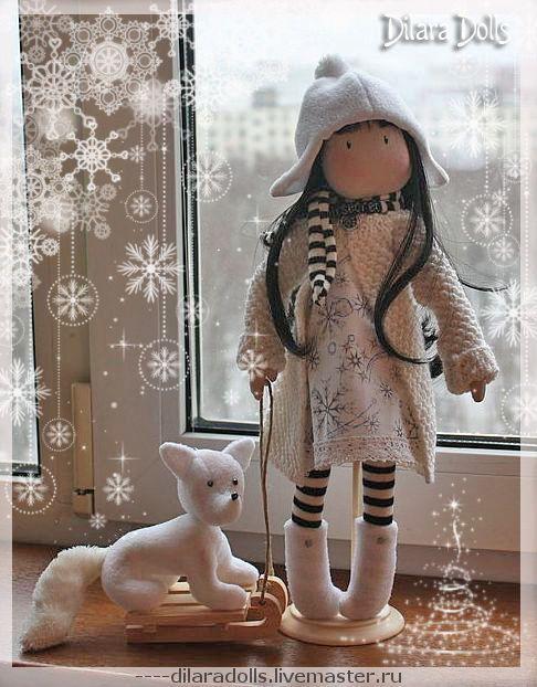 Текстильная кукла тильда своими руками