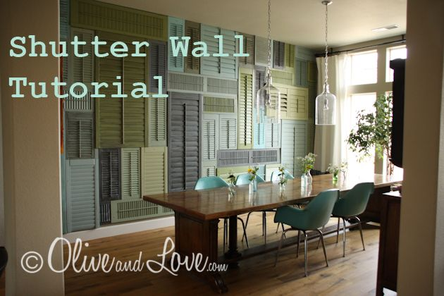 awesome shutter wall