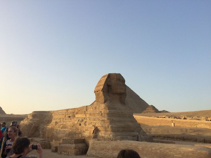 The Great Sphinx of Giza, Cairo Egypt.
