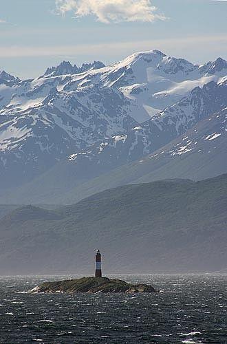 Tierra del Fuego (Faro Les Eclaireurs). Argentina