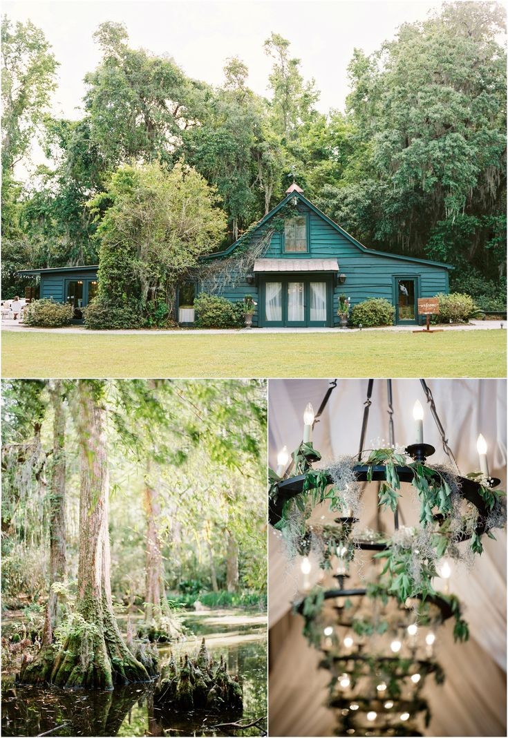 Magnolia Plantation spring wedding at The Carriage House in Charleston, SC.