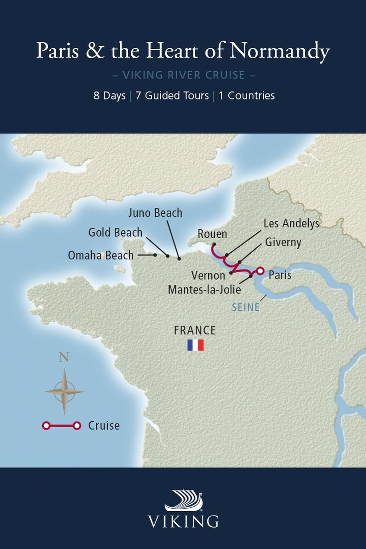 Seine River Cruise Map