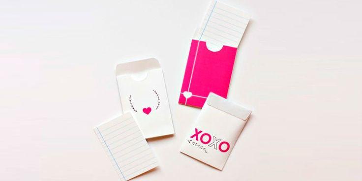 12 Maneras de regalar una mini carta de amor