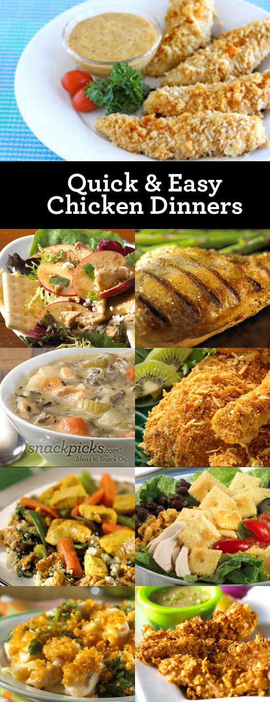 9 Easy Chicken Dinner Recipes