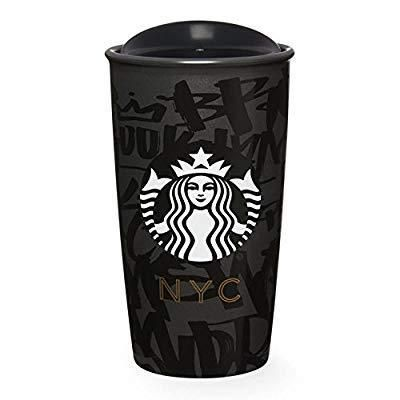 Starbucks Limited Collection Nyc Black Ceramic Travel Mug Starbucks Mugs Starbucks Cups Starbucks Lovers
