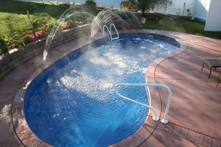 Portrait of Swimming Pool Fibreglass Ideas