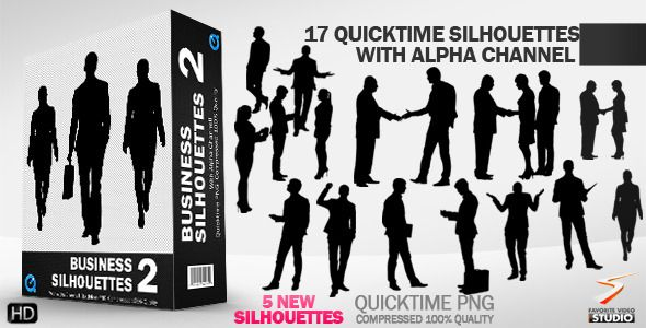 Business Silhouettes Collection 2.2
