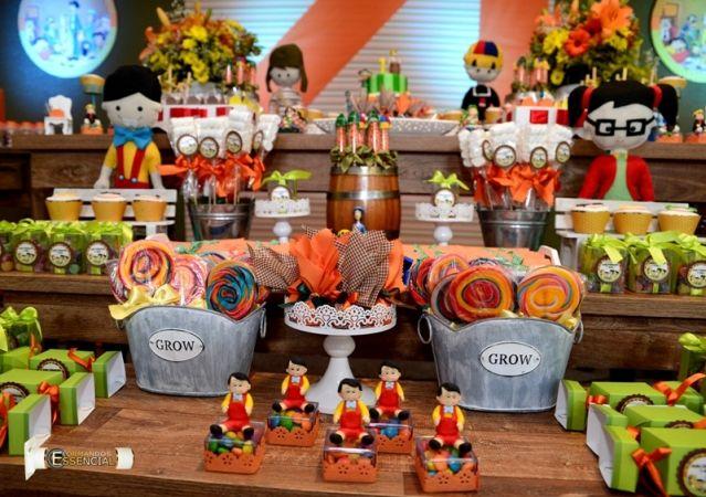 Decoração de Festa Infantil Chaves 5