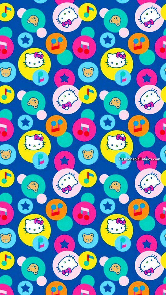patterns.quenalbertini: Hello Kitty iPhone Wallpaper