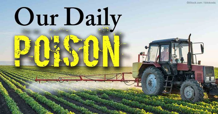 """""""Our Daily Poison"""" covers a spectrum of toxins most people are exposed to on a regular basis, including agricultural chemicals, food additives, and more. http://articles.mercola.com/sites/articles/archive/2015/10/24/our-daily-poison.aspx"""
