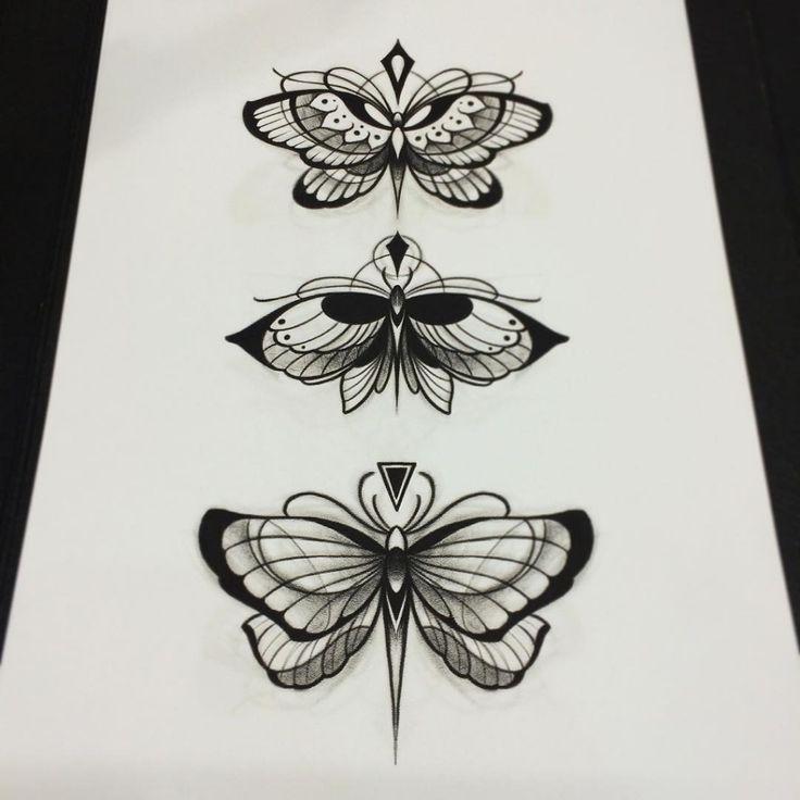 Bildergebnis für traditional butterfly tattoo