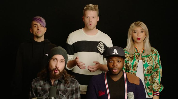 No - Pentatonix (Meghan Trainor Cover)> The minute it came out I had a freak out in class, everyone understood my freak out
