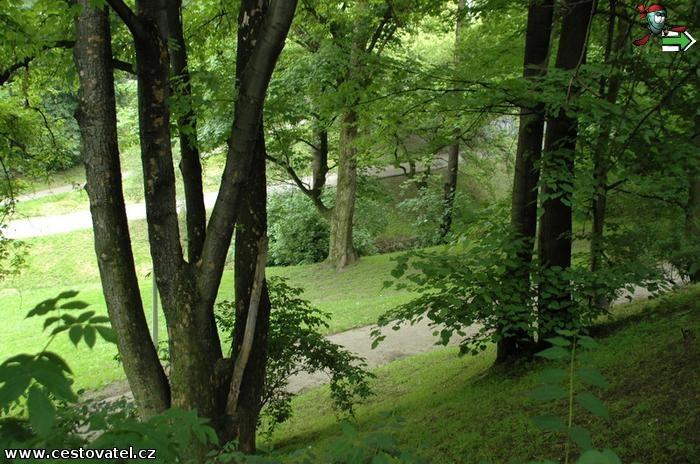 Praha - Pestré krajkoví parků v Dejvicích a v Bubenči