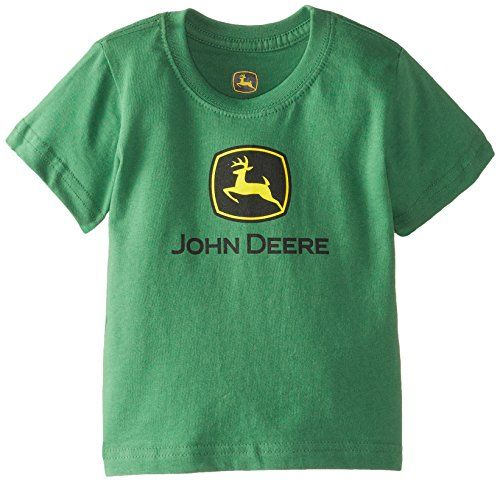 John Deere Baby Boys Trademark Short Sleeve Tee Green 18 Months -- Be sure to check out this awesome product.