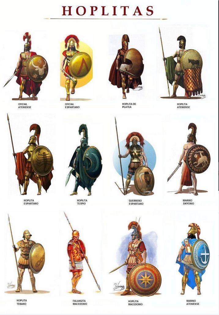 Hoplitas gregos